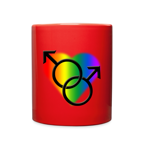 Gay Pride Mugs Rainbow Love Cups - Full Color Mug