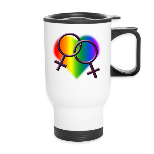 Gay Pride Tavel Mugs Rainbow Love Gifts - Travel Mug