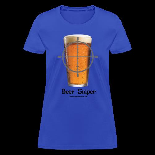 Beer Sniper Women's T-Shirt - Women's T-Shirt
