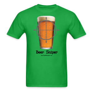 Beer Sniper Men's T-Shirt - Men's T-Shirt