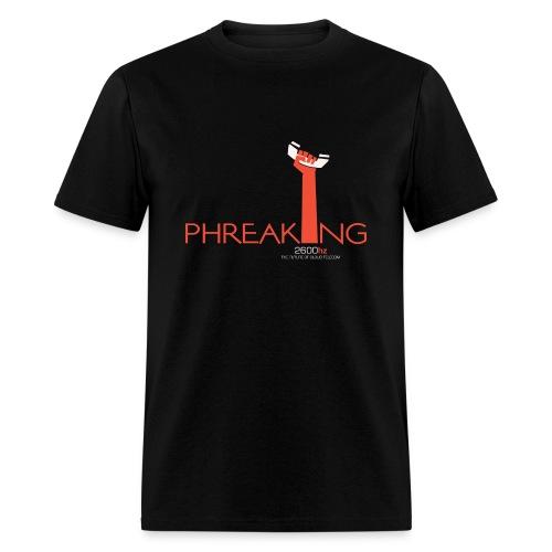 2600hz - Phreaking  - Men's T-Shirt