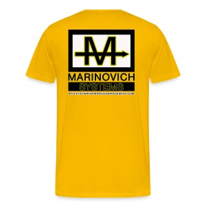 Marinovich Systems T-shirt - Men's Premium T-Shirt