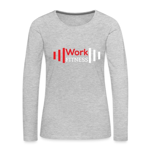 Work Fitness Long Sleeve Tee Women's - Women's Premium Long Sleeve T-Shirt