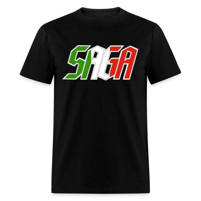 Saga Italy Flag LOGO 2017 Tour Shirt