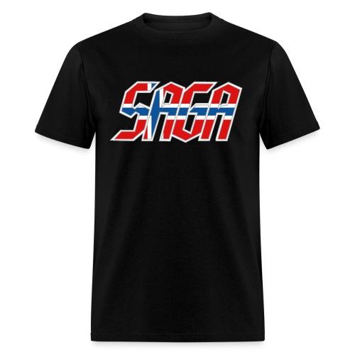 Saga Norway Flag LOGO 2017 Tour Shirt - Men's T-Shirt