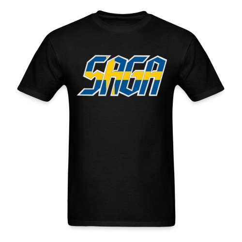 Saga Sweden Flag LOGO 2017 Tour Shirt - Men's T-Shirt