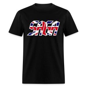 Saga UK Flag LOGO 2017 Tour Shirt - Men's T-Shirt