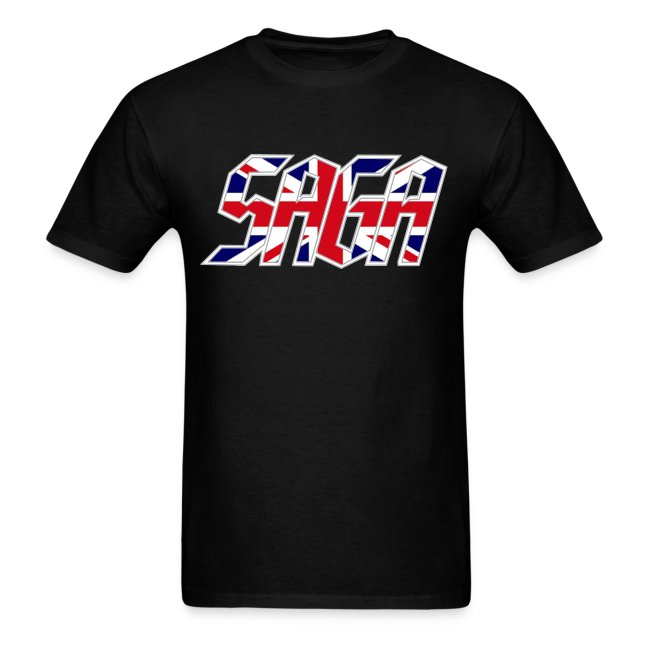 Saga UK Flag LOGO 2017 Tour Shirt