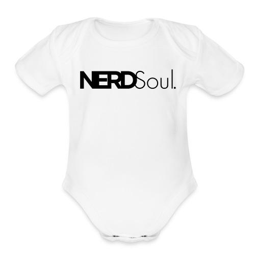 Baby 'NERDSoul' - Organic Short Sleeve Baby Bodysuit