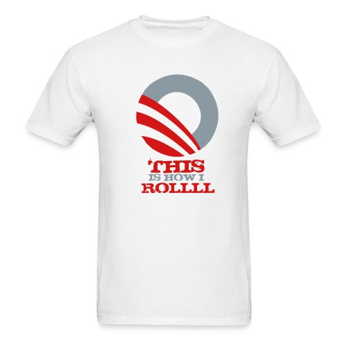 Obama Roll  - Men's T-Shirt