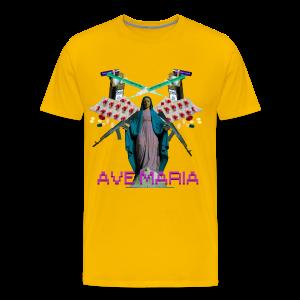 Ave Maria Hoodie - Men's Premium T-Shirt