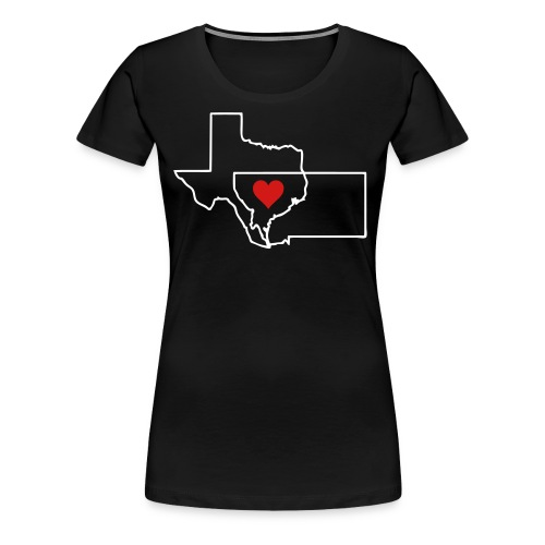Texas & Montana Together - Women's Premium T-Shirt