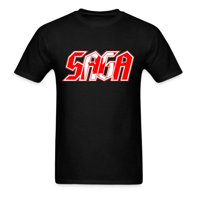 Saga Canada Flag LOGO 2017 Tour Shirt