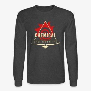 Cream on Grey Longsleeve - Men's Long Sleeve T-Shirt
