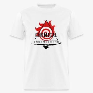 Black on White T-Shirt - Men's T-Shirt