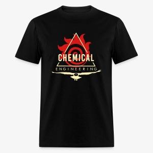 Cream on Black T-shirt - Men's T-Shirt