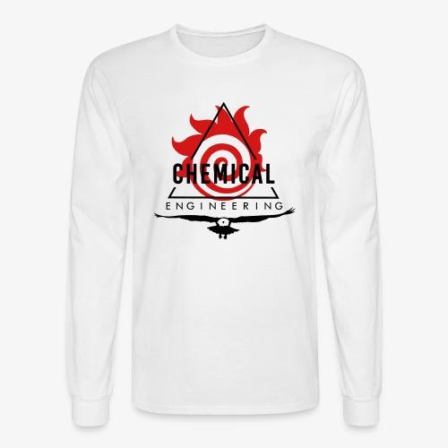 Black on White Longsleeve - Men's Long Sleeve T-Shirt