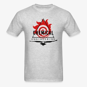 Black on Heather Grey T-shirt - Men's T-Shirt