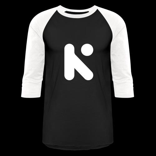 White K Baseball Tee - Baseball T-Shirt