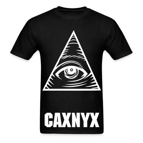 CAXNYX SEEING ALL TEE BLACK - Men's T-Shirt