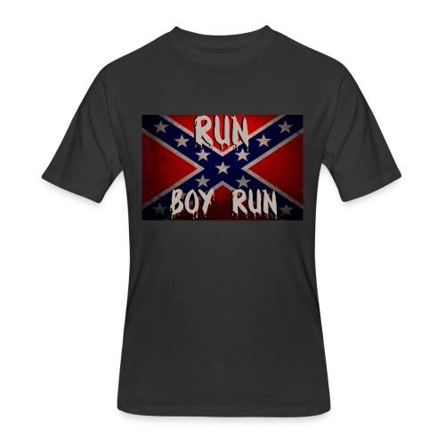 RUN BOY RUN Mens T - Men's 50/50 T-Shirt
