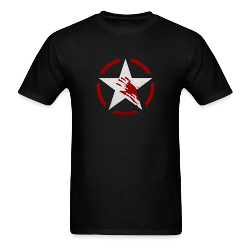 WWII Star - Zombies - Men's T-Shirt