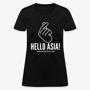 Hello Asia! Official Women's sized T-Shirt - Women's T-Shirt