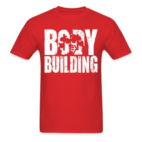 The Ultimate BODYBUILDING Logo - Men's T-Shirt