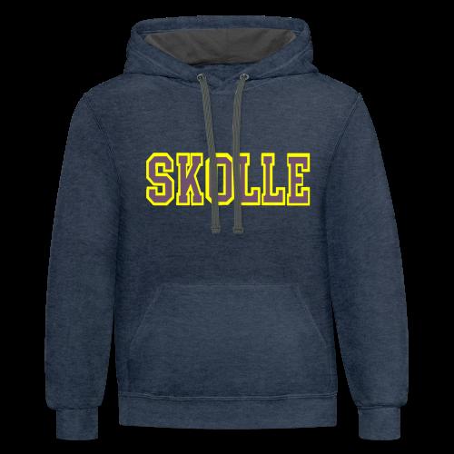 Stay In Skolle - Contrast Hoodie