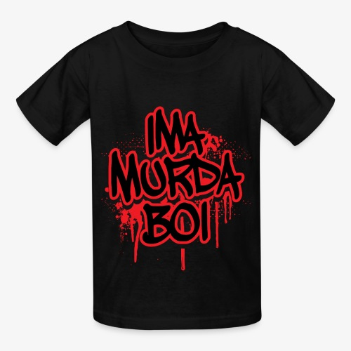ima murda boi toddler  - Kids' T-Shirt