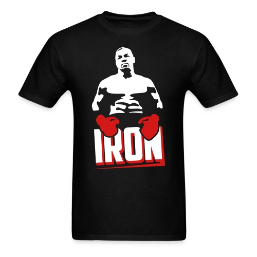 Iron Mike Tyson t-shirt - Men's T-Shirt