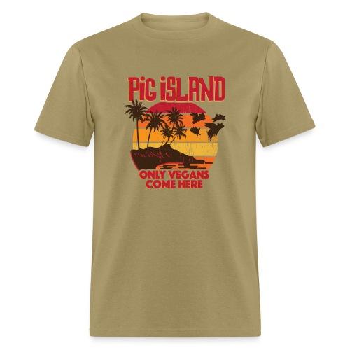 Pig Island Unisex T-Shirt - Men's T-Shirt