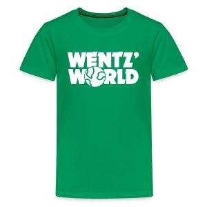 Wentz' World - Kids' Premium T-Shirt