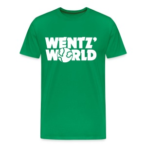 Wentz' World - Men's Premium T-Shirt