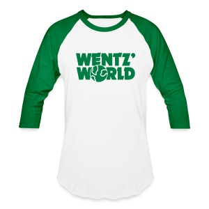 Wentz' World - Baseball T-Shirt