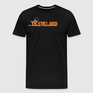 F Cleveland - Men's Premium T-Shirt