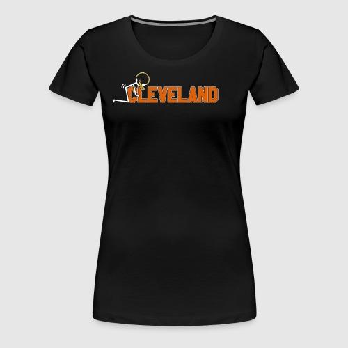 F Cleveland - Women's Premium T-Shirt