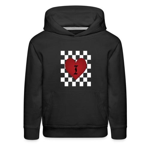 I heart Chess - Kids Hoodie - Kids' Premium Hoodie