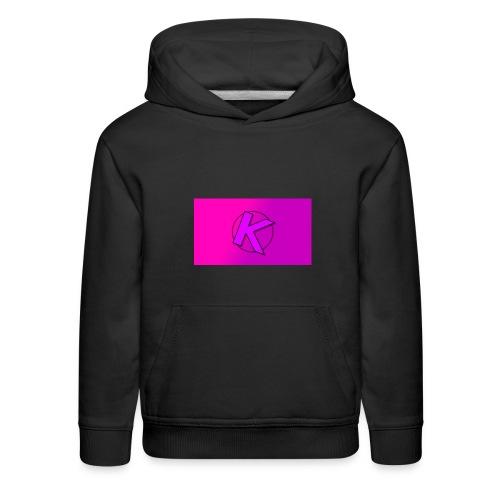 kahreee logo - Kids' Premium Hoodie