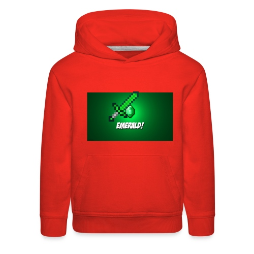 green gaming shirt - Kids' Premium Hoodie