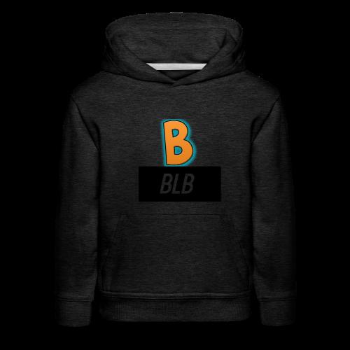 """BLB """"B"""" Kid's Hoodie - Kids' Premium Hoodie"""