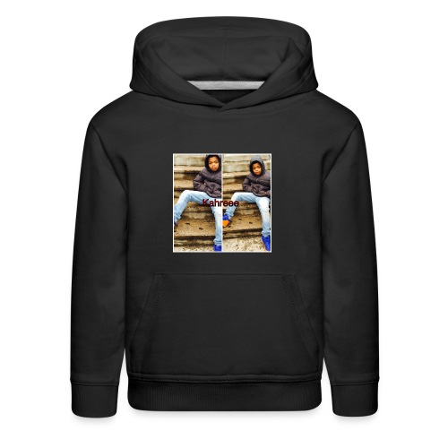 kahreee shirt - Kids' Premium Hoodie