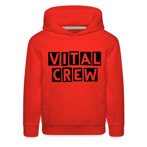 Official Vital Crew Hoodie Pink Edition For Kids Only - Kids' Premium Hoodie