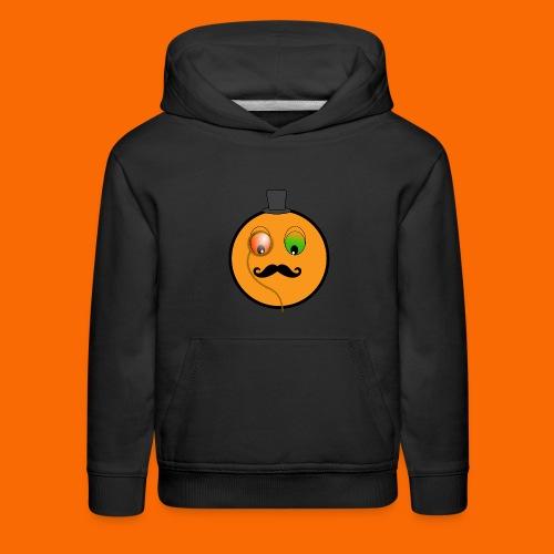 Kids Orangeman Hoodie (BLACK) - Kids' Premium Hoodie