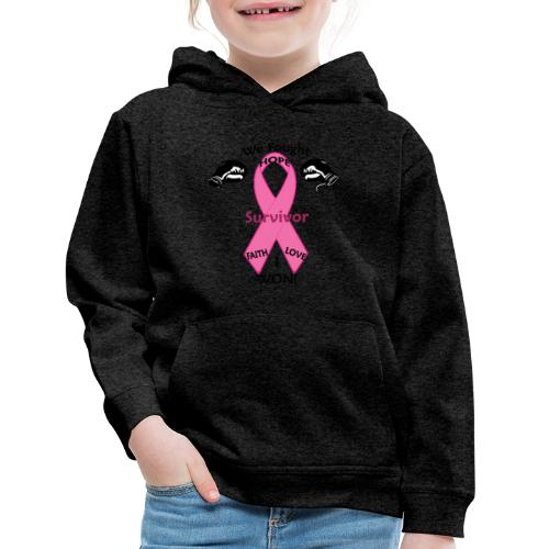 Breast Cancer Awareness Hoodie - Kids' Premium Hoodie