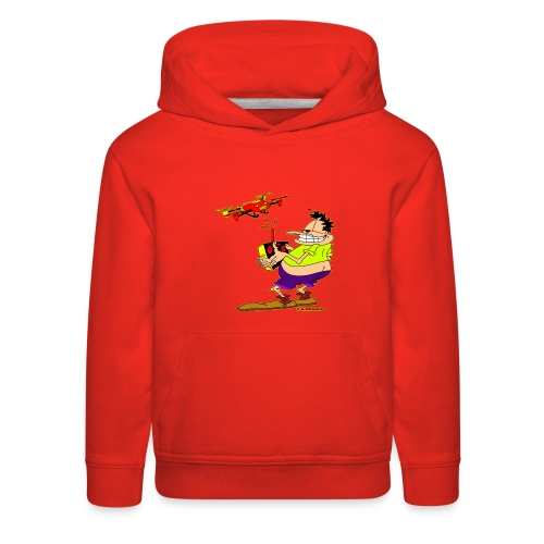 GrisDismation's Ongher Droning Out-Ongher flying-G - Kids' Premium Hoodie