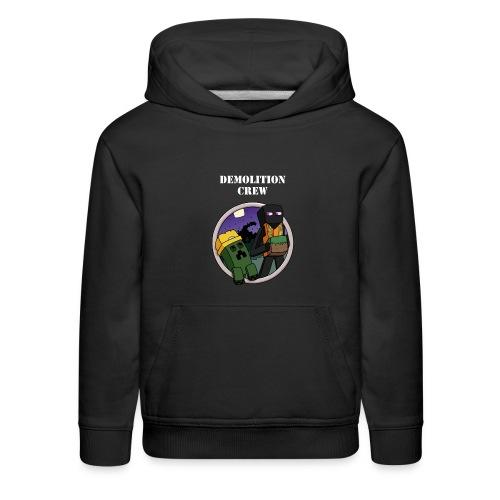 Demolition Crew Hoodie - Kids' Premium Hoodie