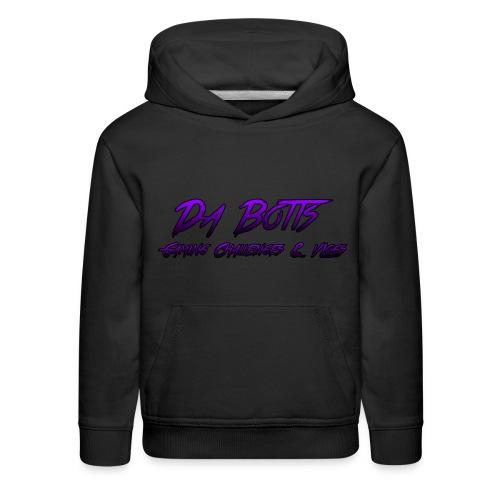 Da Botts Gaming Challenges & Vlogs Hoodie ( Dark Purple and Purple ) - Kids' Premium Hoodie