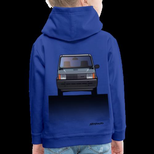 Euro Design Icons: Fiat Panda - Kids' Premium Hoodie