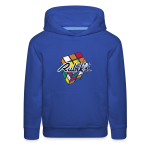 Rubik's Cube Distressed and Faded - Kids' Premium Hoodie